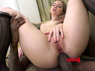 Candy Heaven introduced into the world of anal perversion 18 y.o. tight ass