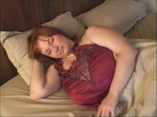 A Redhead BBW Milf with Huge Boobs