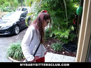 MyBabySittersClub Petite Babysitter Fucked By The Horny Boss