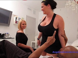 Angelina castro and mellanies public masturbation and hard fucking