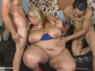 Sexy SSBBW Lovely Sillk Gets Ass Fucked By Studs